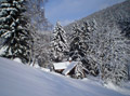 Zima vDolním Dvoře– Pension Luisa